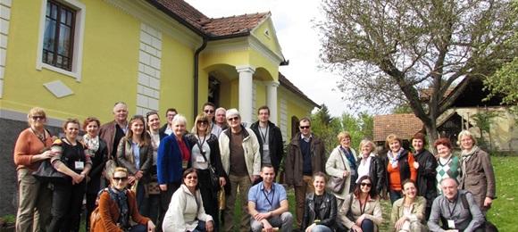 Studijski obilazak Međimurja tijekom drugog Hrvatskog ruralnog parlamenta
