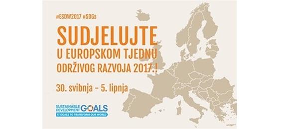 Sudjelujte u Europskom tjednu održivog razvoja 2017.!