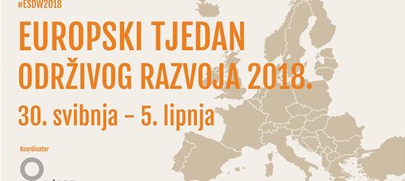 Sudjelujte u Europskom tjednu održivog razvoja 2018.!