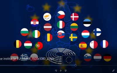 Izrađen animirani edukativni video Političke institucije EU