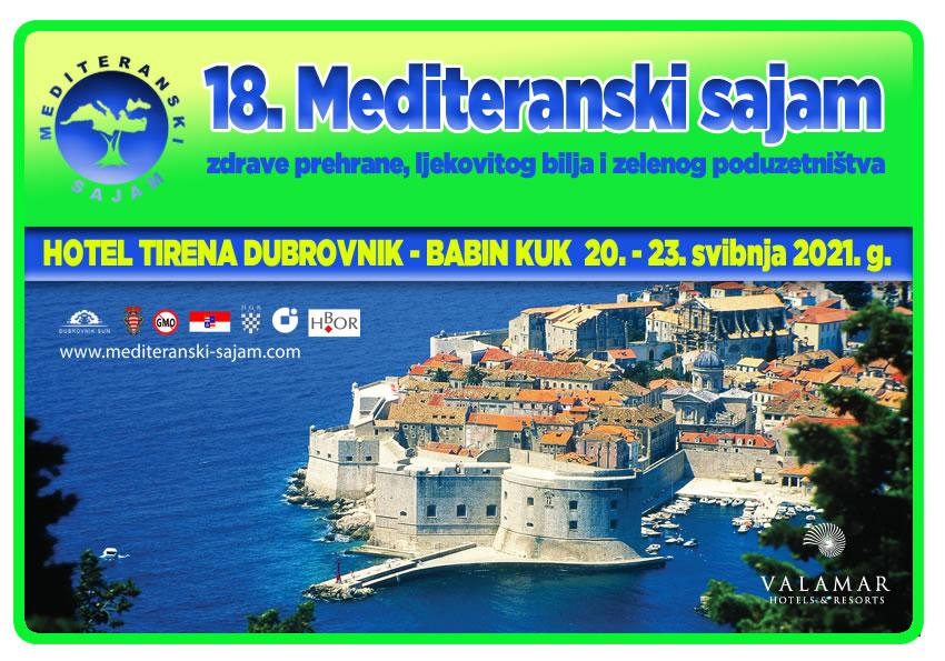 18. Mediteranski sajam zdrave prehrane, ljekovitog bilja i zelenog poduzetništva